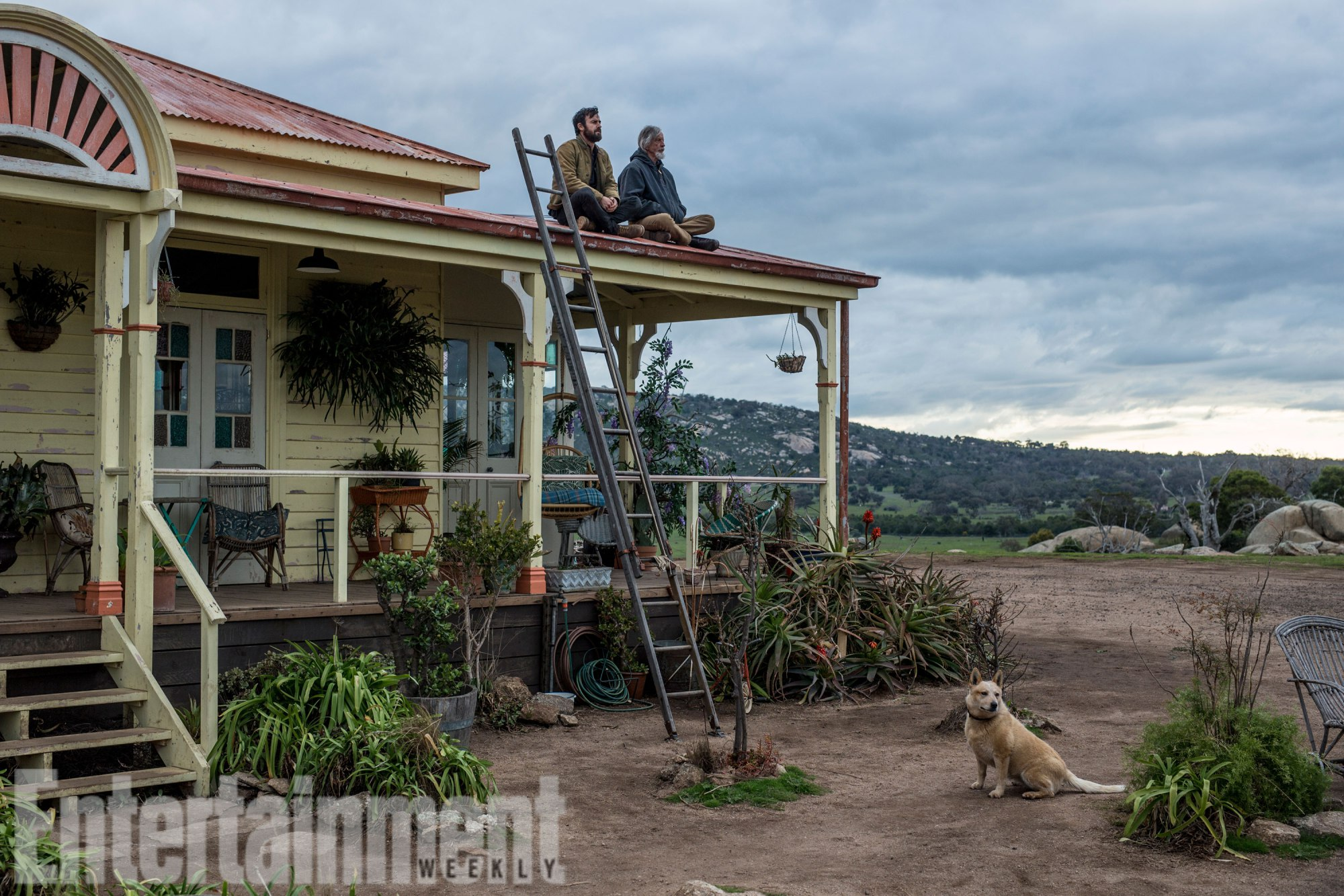 THE LEFTOVERS Season 3 Theroux as Kevin Garvey and Scott Glenn as Kevin Garvey Sr. in Australia