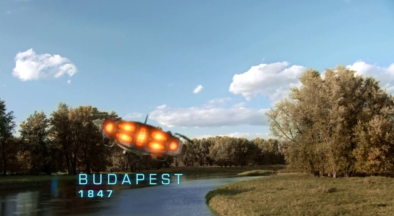 Legends of Tomorrow 1847 Budapest