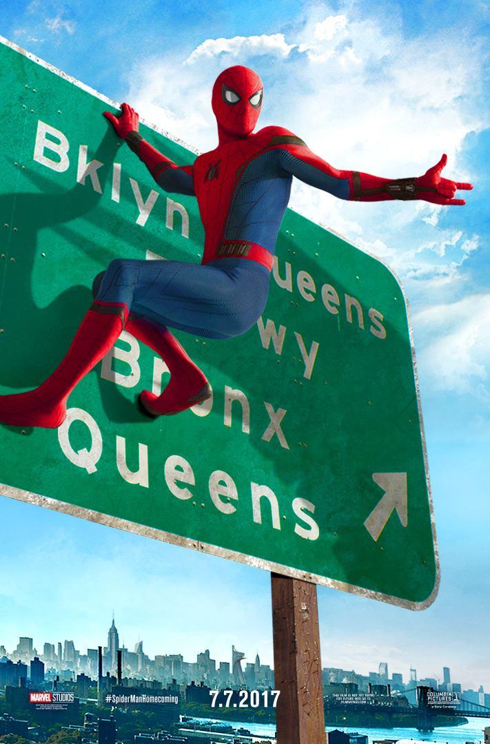 Pókember hazatérés plakát