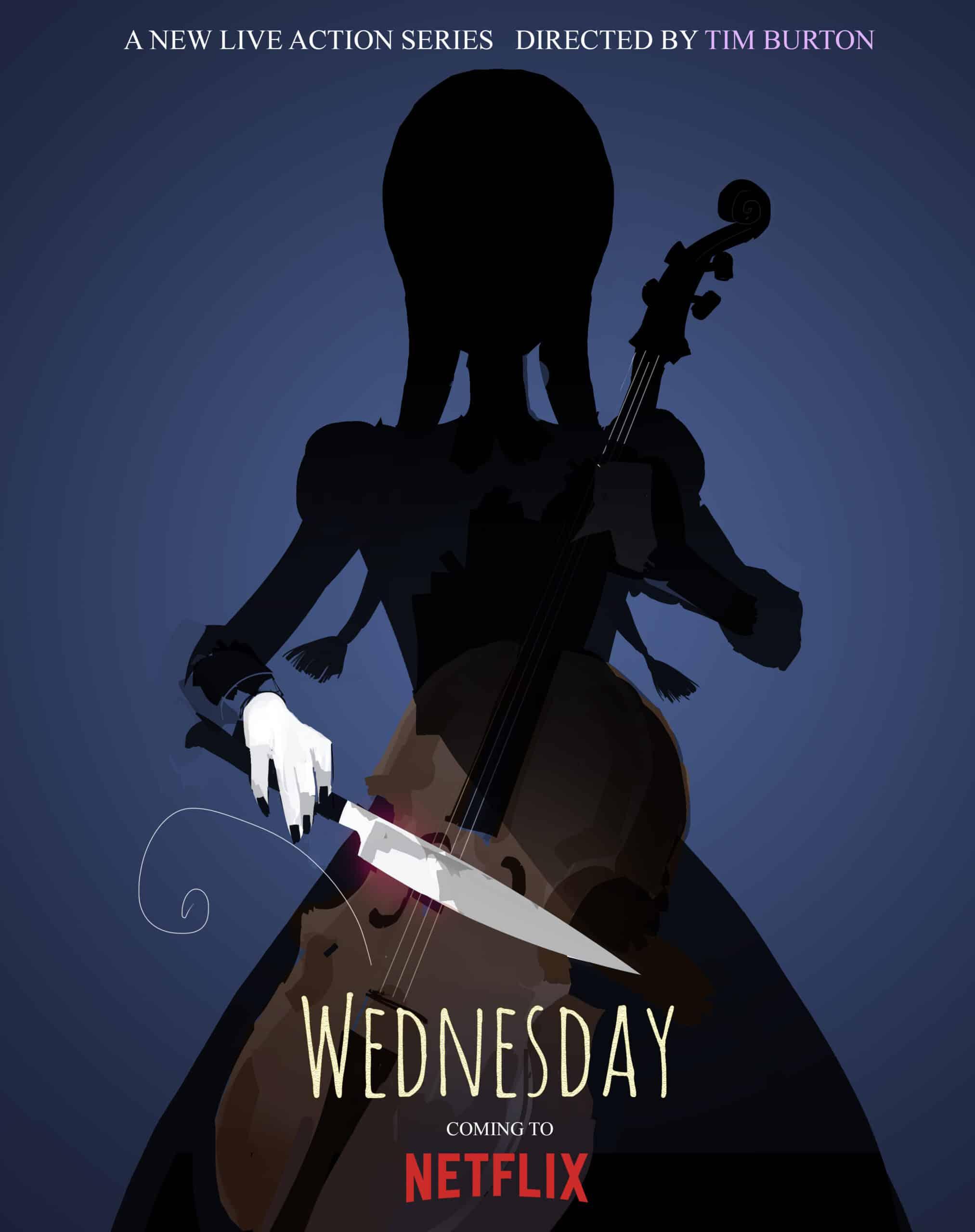 Tim Burton Wednesday sorozat